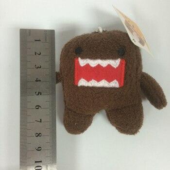 8 cm DOMO KUN Plush toys Phone Charm Pendant Lanyard doll Bag Key chain domokun funny kawaii keyring Domo-kun plush toy 10