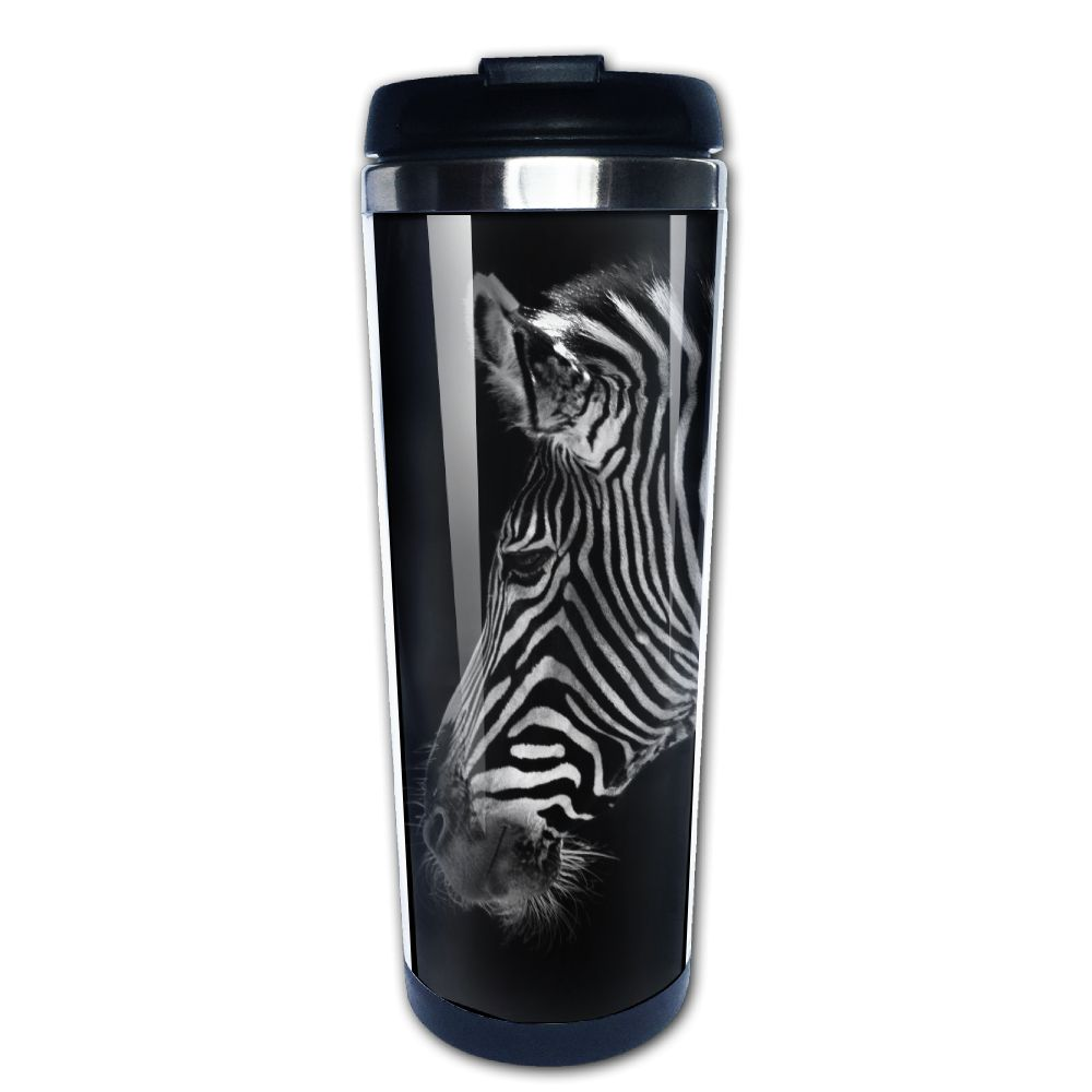 Zebras Funny Travel Mug 400ML Coffee Mugs or Tea Cup Cool Birthday/christmas Gifts for Men,women,him,boys and Girls