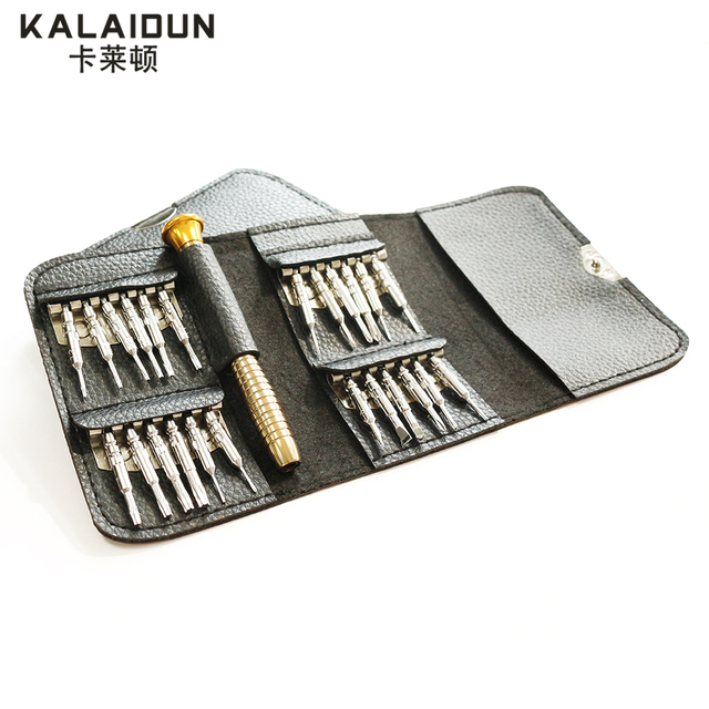 For iPhone Cellphone Tablet PC Worldwide Store Hand tools KALAIDUN Screwdriver Set 25 in 1 Torx Screwdriver Repair Tool Set