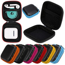 For Apple Airpods Earphone Holder Case Storage Box Size Holder Hard Shell EVA Carrying Headphone Earbuds 5(China)