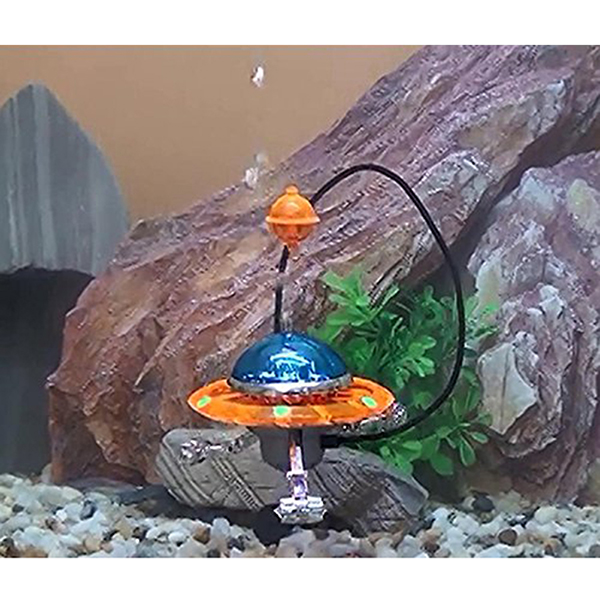 Popular ufo ornament buy cheap ufo ornament lots from for Aquarium airplane decoration