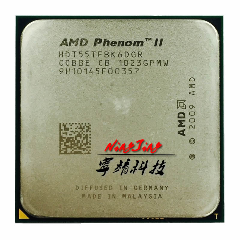 AMD Phenom II X6 1055T 1055 2.8G 125W Six-Core CPU processor HDT55TFBK6DGR Socket AM3