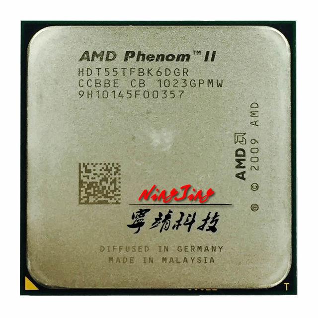 AMD Phenom II X6 1055T 1055 2.8G 125W Six Core CPU processore HDT55TFBK6DGR Presa AM3