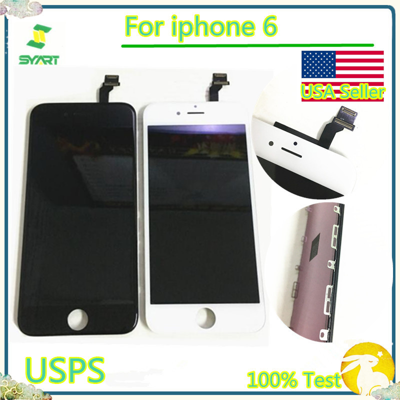100% Tested Grade AAA Quality For iphone6 Screen LCD Display With Touch Screen Digitizer Assembly For iphone 6 6G USA Seller|Mobile Phone LCD Screens|   - AliExpress