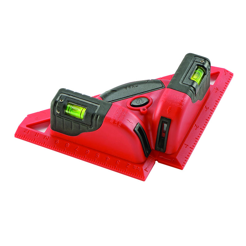 KAPRO Laser level Laser angle meter Investment line instrument 90 degree laser vertical scribe 20 meters kapro clamp type high precision infrared light level laser level line marking the investment line