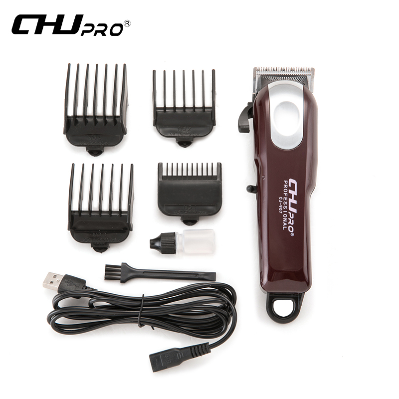 Professional Rechargeable Hair Clipper Electric Trimmer Clippers for Men Haircut USB Plug Machine Salon Hair ToolsProfessional Rechargeable Hair Clipper Electric Trimmer Clippers for Men Haircut USB Plug Machine Salon Hair Tools