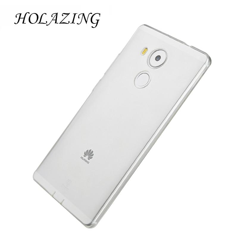 Holazing оптовая продажа прозрачный гель ТПУ Резиновая Мягкий силиконовый чехол для Huawei Коврики 8 ультра тонкий защитный кожного покрова