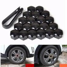 цена на 20pcs Car Wheel Nut Caps Auto Hub Screw Cover 17mm Bolt Rims Exterior Decoration Special Socket Protection Dust Proof