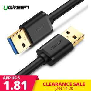 Ugreen USB to USB Cable Type A Male to Male USB 3.0 2.0 Extension Cable for Radiator