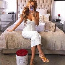 Summer Air Eye Sling Strap V-neck Rivet Stitching Sexy Mid-rise Dress Nightclub Bandage Celebrity Elegant Dresses