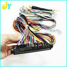 Проводка JAMMA жгут 28 pin с 5,6 кнопками провода для 2 игроков аркадная игра/Аксессуары для шкафа 6 кнопочные провода