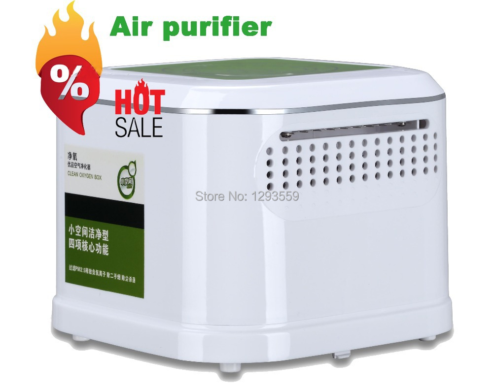 ФОТО Popular anion oxygen bar Ozone Ionizer air cleaner,high speed purifying air,Hepa,active carbon and polyester wadding filters