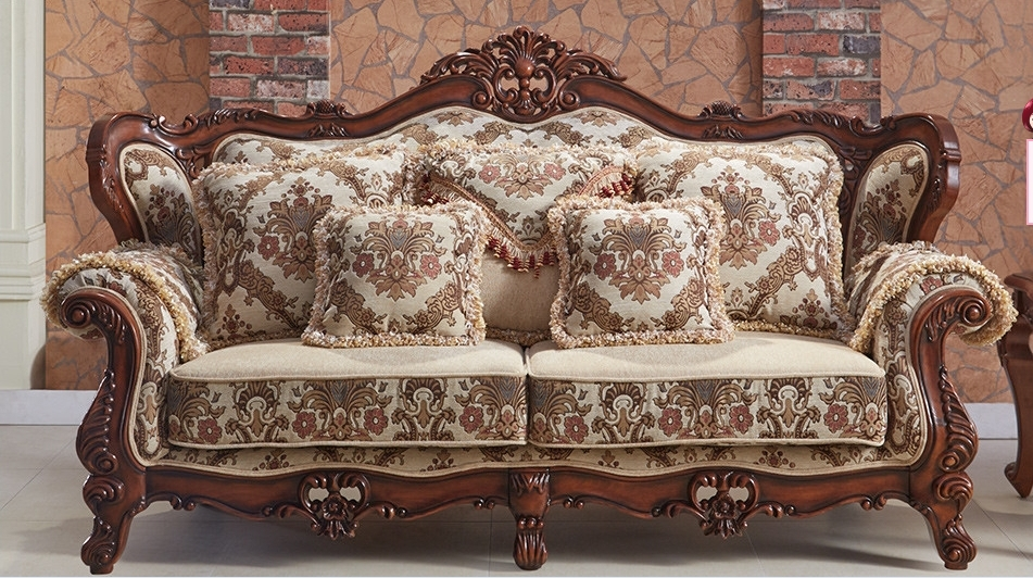 Antique High Quality Solid Wood Caving American Style Fabric Sofa In Living Room Sofas From Furniture On Aliexpress Alibaba Group