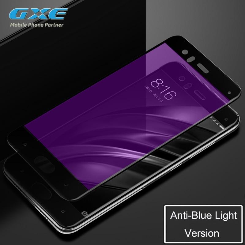 Xiaomi Max Mi6 Mi 5C 5S Plus Mavi Yumşaq Kənar Şüşə Film - Cib telefonu aksesuarları və hissələri - Fotoqrafiya 5