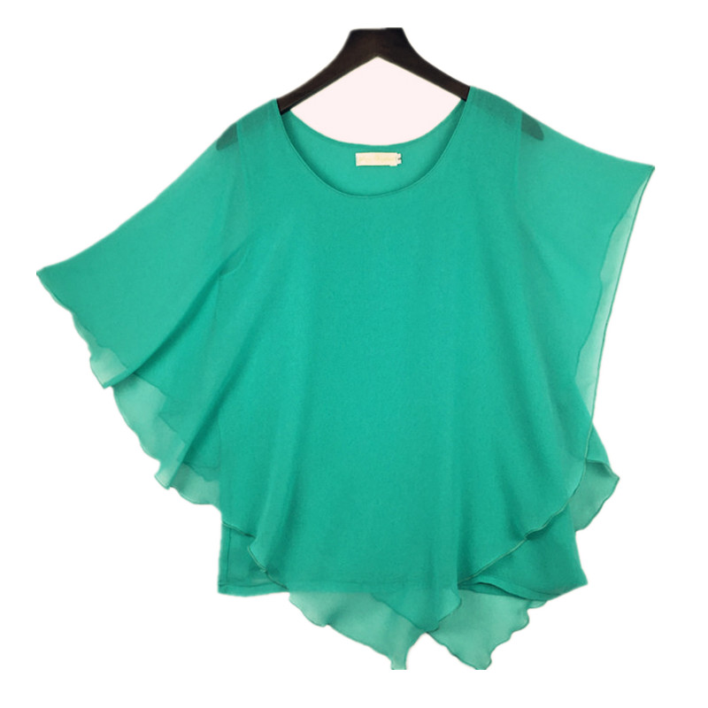 tops camisas femininas assimétricas