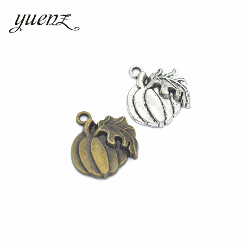 YuenZ 20pcs fashion alloy jewelry pumpkin charms metal pendant diy Jewelry Accessories K10