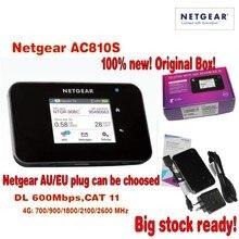 Orijinal Unlocked dokunmatik ekran AC810S Aircard 810 S Cat11 Netgear 600 Mbps 4GX Gelişmiş III 4G LTE Mobil Hotspot pk e5786 ac790s