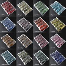 DMC Cobalt Hotfix Rhinestone Mixed size 2/3/4/5/6mm 2400pcs/lot Flatback stones for rhinestone motifs free shipping