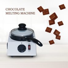 DIY Kitchen tools Chocolate Melting Machine Single Chocolate Melter Pan ,Chocolate warmer heater Cooker Candy Food Processors small chocolate candy coating machine sugar coated pan