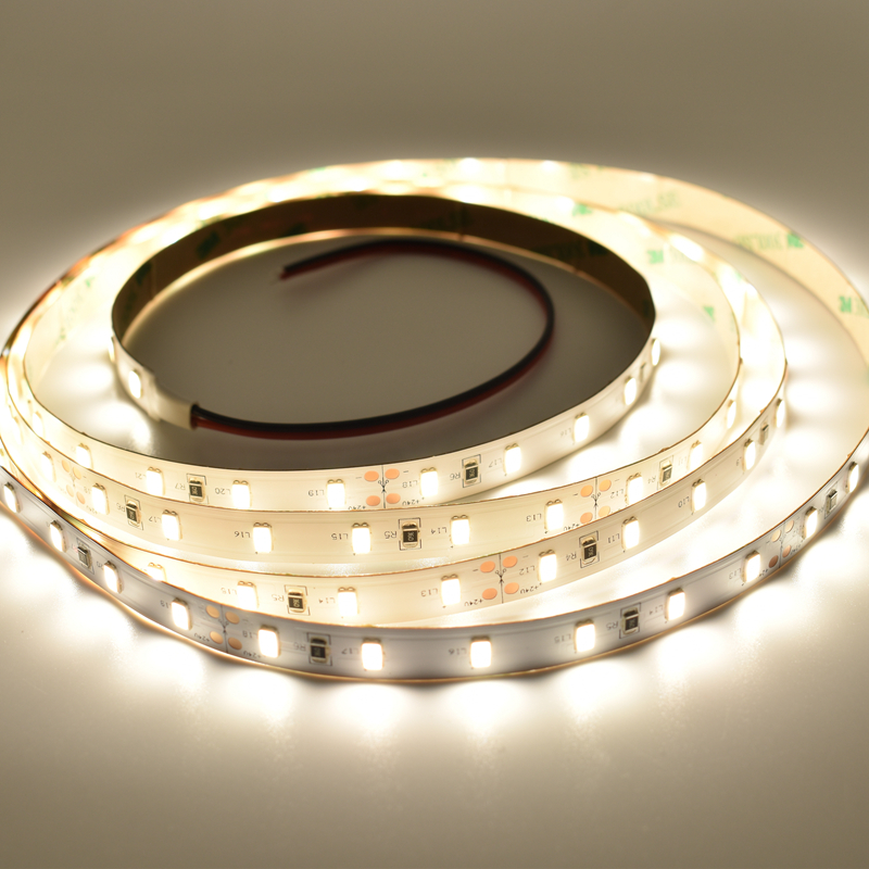 Super Bright Original Korea Samsung 5630 SMD LED strip Light Nature White Warm White DC24V 21W 60-65LM/led Free Shipping 5M/lot super slim 45 led 90cm dc12v soft smd light strip white led