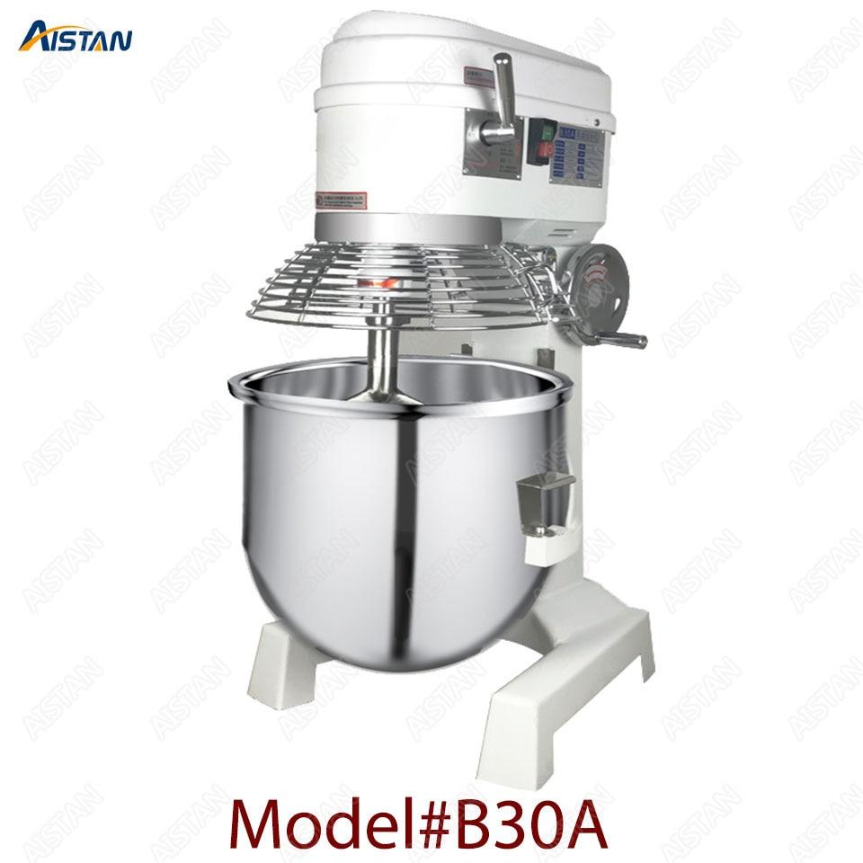 B20A/B30A commercial electric 20L/30L food mixer planetary mixer dough mixer machine for dough kneading/ egg beating/food mixing 2