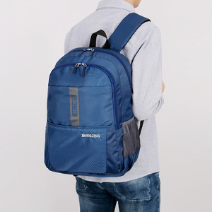 Image 2 - New Nylon Waterproof Lightweight Mens Backpack Casual Large Capacity Women Bag Travel Backpack Sport Bag