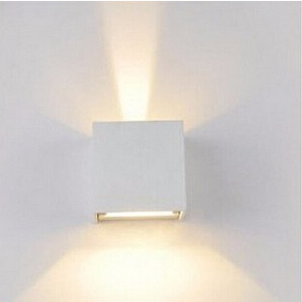 Aluminum Water Proof Led Outdoor Wall Lamp Adjustable