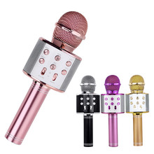 Professional Bluetooth Wireless Microphone Karaoke Speaker Handheld Music Player MIC Sing Recorder KTV Z2
