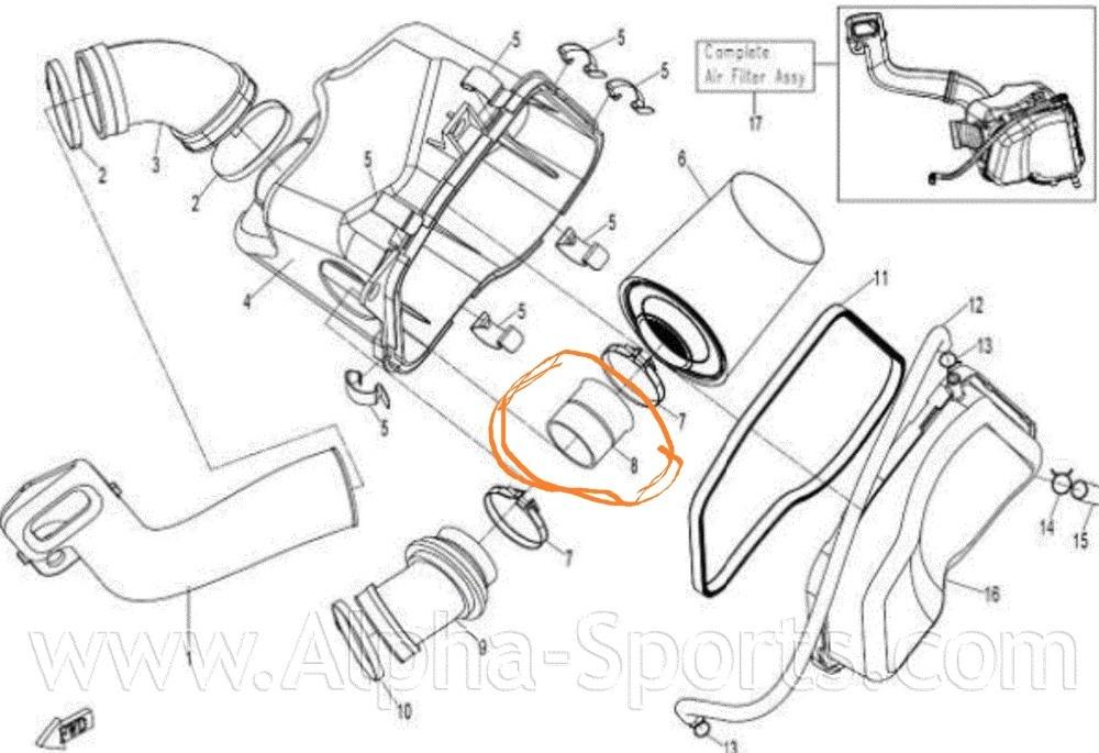 Cfz8 Parts Code Is 0800 110005