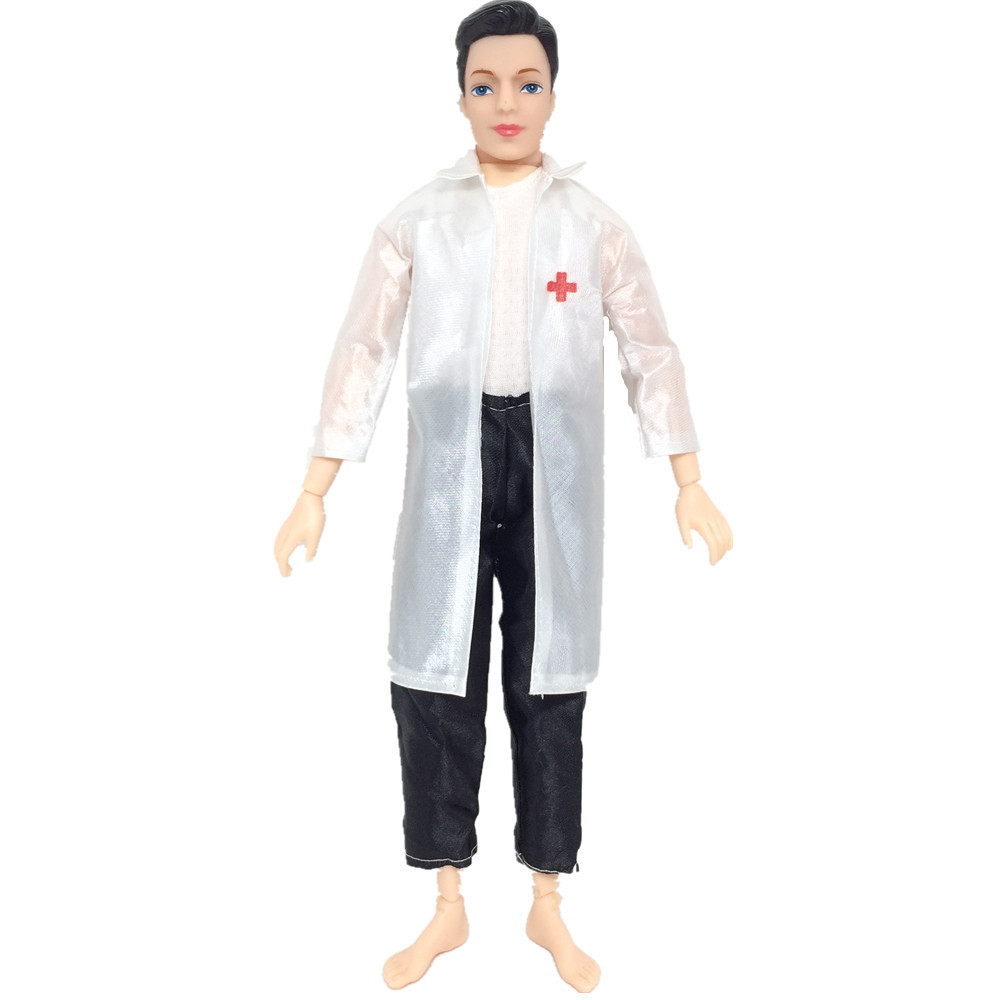 Dolls Accessories Fashion 4 Style 1set Doll Dress Clothing Uniform White Angel Female Nurse Male Doctor Dress For Girl Doll Cosplay Dress Up Toy Cheapest Price From Our Site