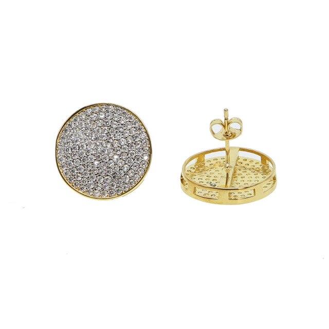Круглые серьги 2018 модные геометрические большие круглые для
