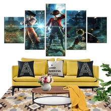 Jump Force Dragon Ball Goku Naruto One Piece Luffy J-Stars Game Poster HD Pictures For Living Room Wall Decor