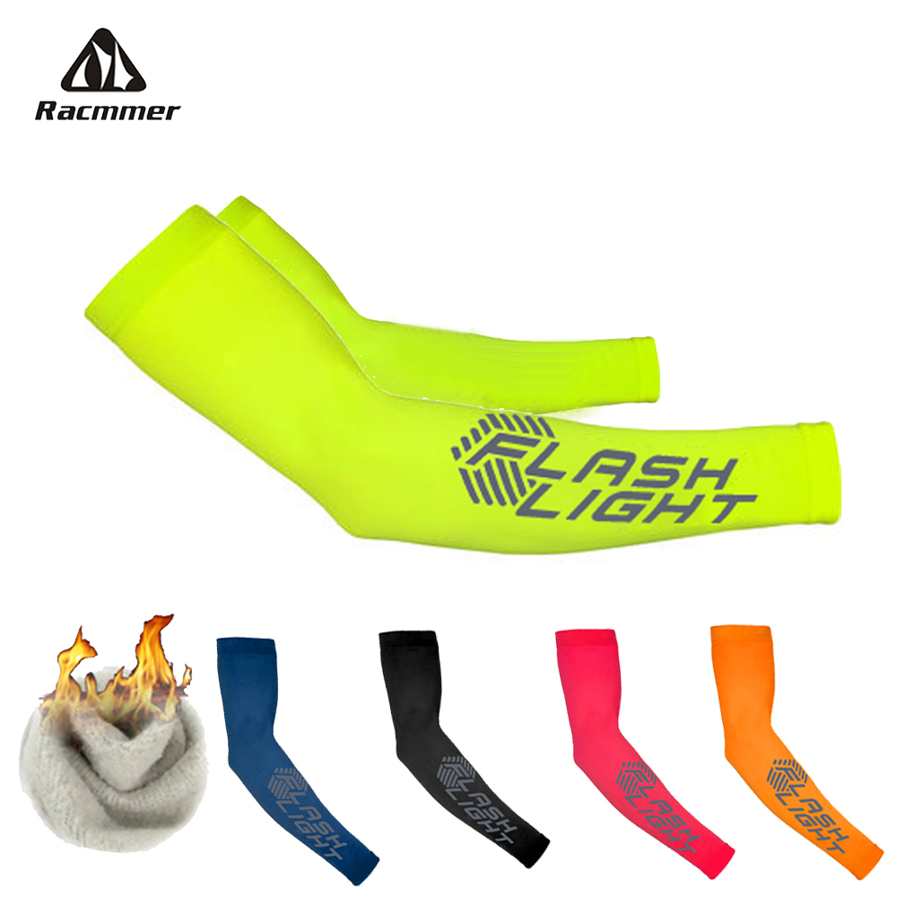 Cycling Thermal Arm Warmers Racmmer With Reflective
