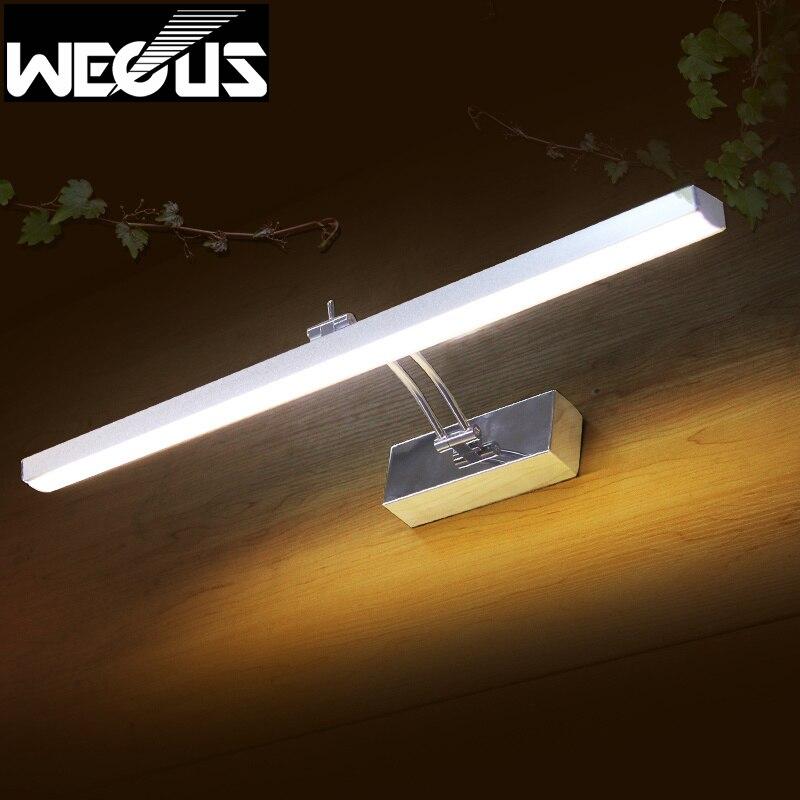400mm Rock Arm Bathroom Mirror Light Led Bedroom Study Desk Overhead Lamp Picture Lighting 110v
