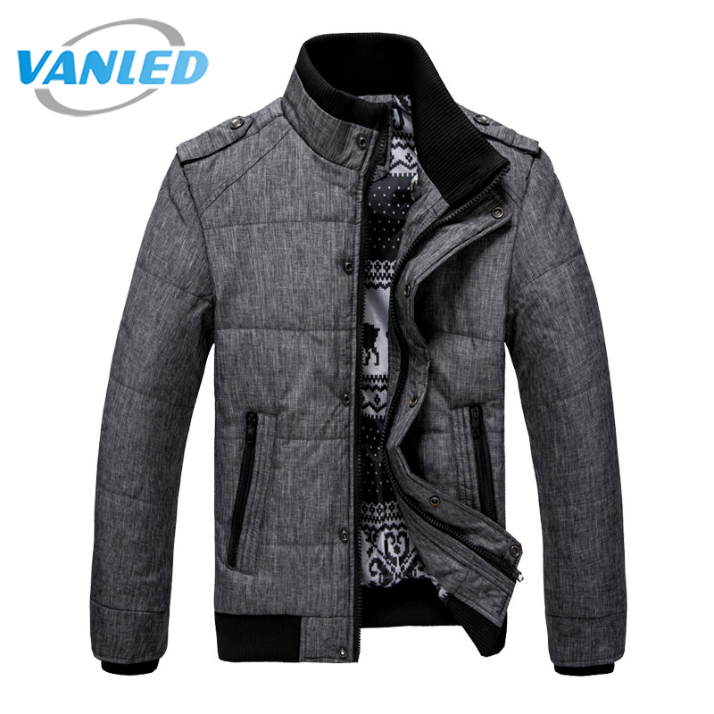 2017 New Brand Winter Warm Jacket for Men Hooded Coats Casual Mens Thick Male Slim Cotton Padded Fit Snow Cold Outerwear Parkas hooded detachable winter warm men coats brand design snow thick outdoor down parkas casual slim fit cotton trench coats f1210