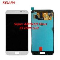 Wholesale E5 Super Amoled LCD Compatible for Samsung Galaxy E500 E500F E500H E500M LCDS Touch Digitizer Assembly