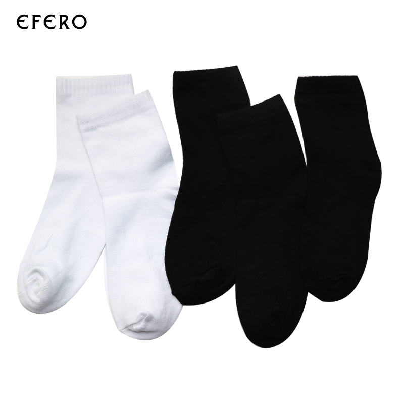 5Pairs Solid Color Socks For Men Fashion Short Ankle Socks 2017 Men Casual Business Breathable Socks Male Dress Meias Chaussette