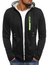 ZOGAA Hot Sale  Male Pocket Zipper Tracksuit Men Casual Fitness Cardigan Outwear Sweatshirt Cotton Autumn Winter Hoodies