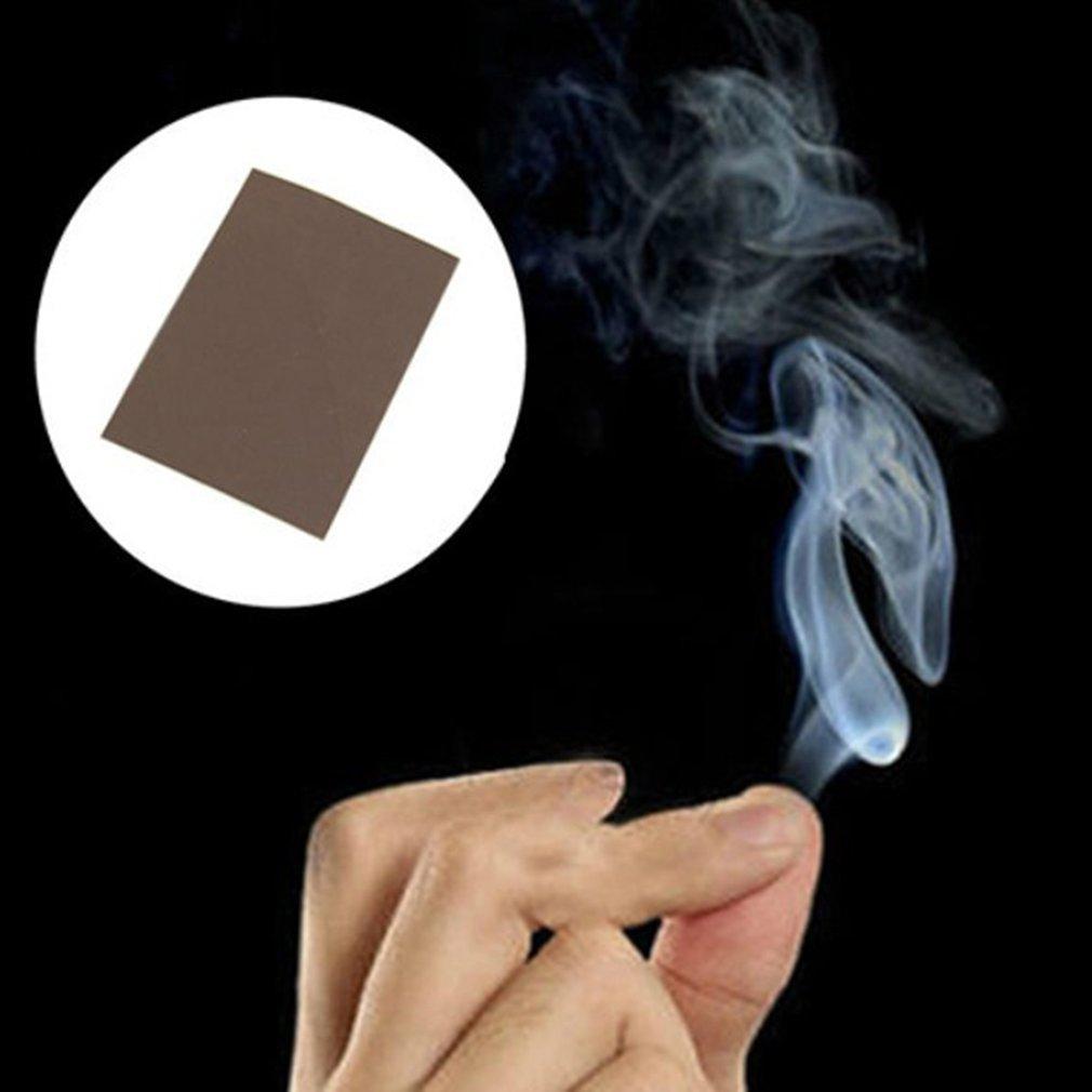 1 Set 10PCS Magic Prop Smoke From Finger Surprise Prank Joke Hell Smoke Mystical Magic Tricks Toys For Children Magicians Funny