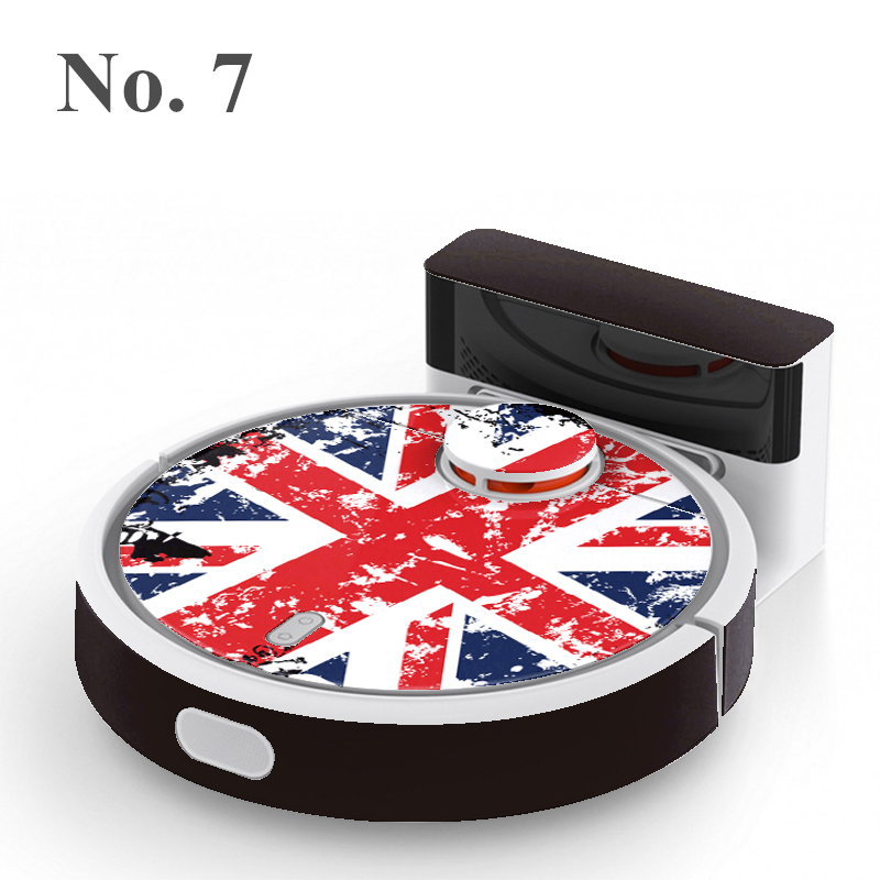 New xiaomi MI Robotic Vacuum Cleaner Cute Sticker  Protective Film 1-24 Models Can Be Selected High quality Free shipping