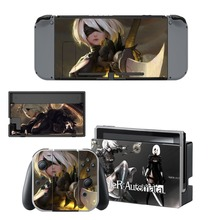 Nintendo Switch Vinyl Skins Sticker For Nintendo Switch Console and Controller Skin Set – For NieR:Automata