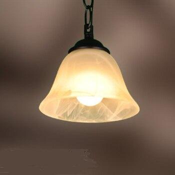 FERR expédition éclairage mode fer unique tête classique salle à manger pendentif lumière entrée rustique FG628 lo1025