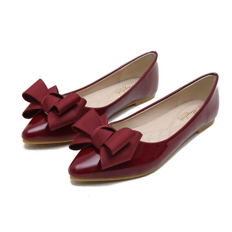 b923b546acfc01 Mocassins rouge Semelle Doux Plus Grande Femmes De Plates Beige Confort  Taille bleu amorti Mode gris vin Conduite beige Chaussures Arc 43 Rouge Cuir  ...