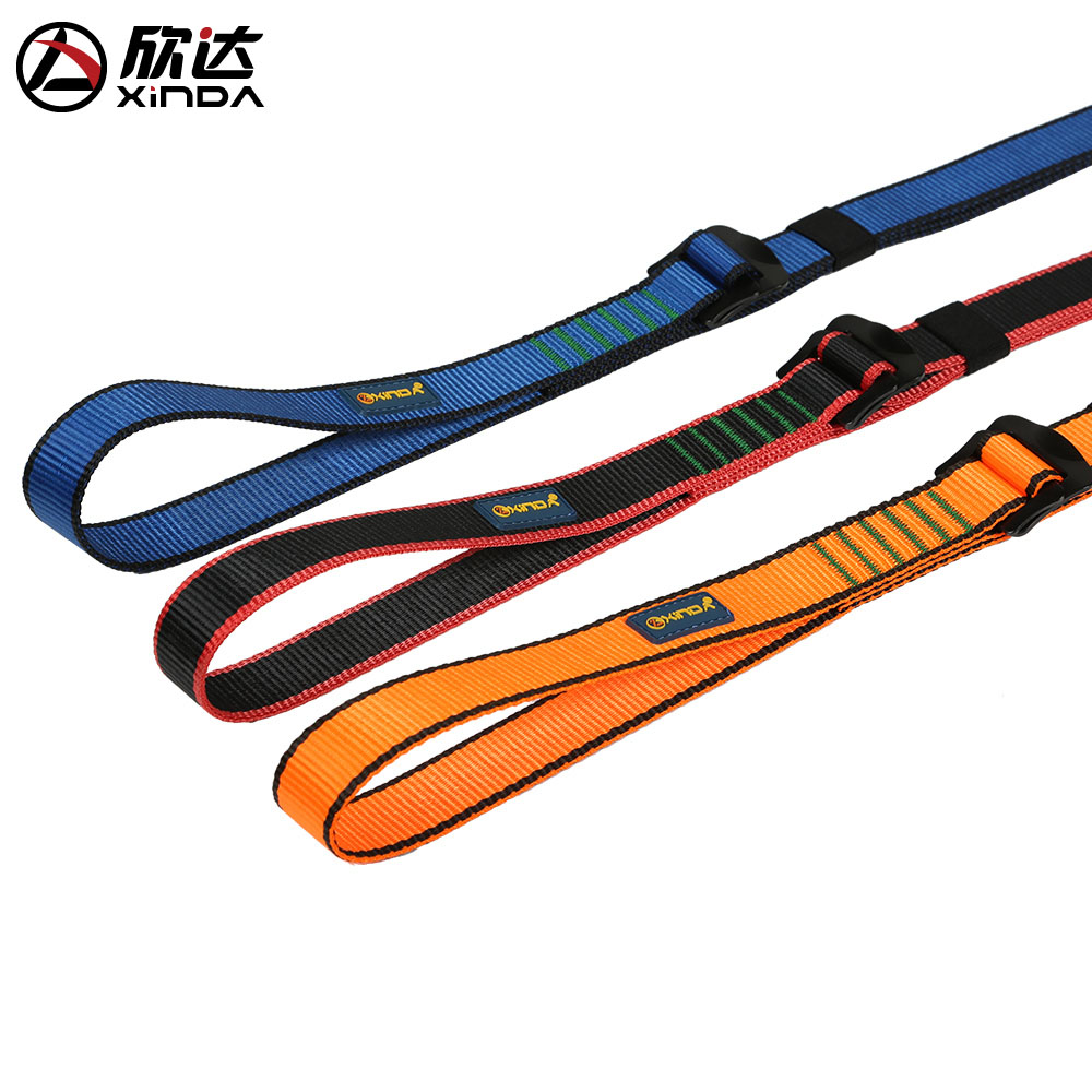 XINDA outdoor rock climbing indoor climbing training safety connection sling amusement facilities protection sling