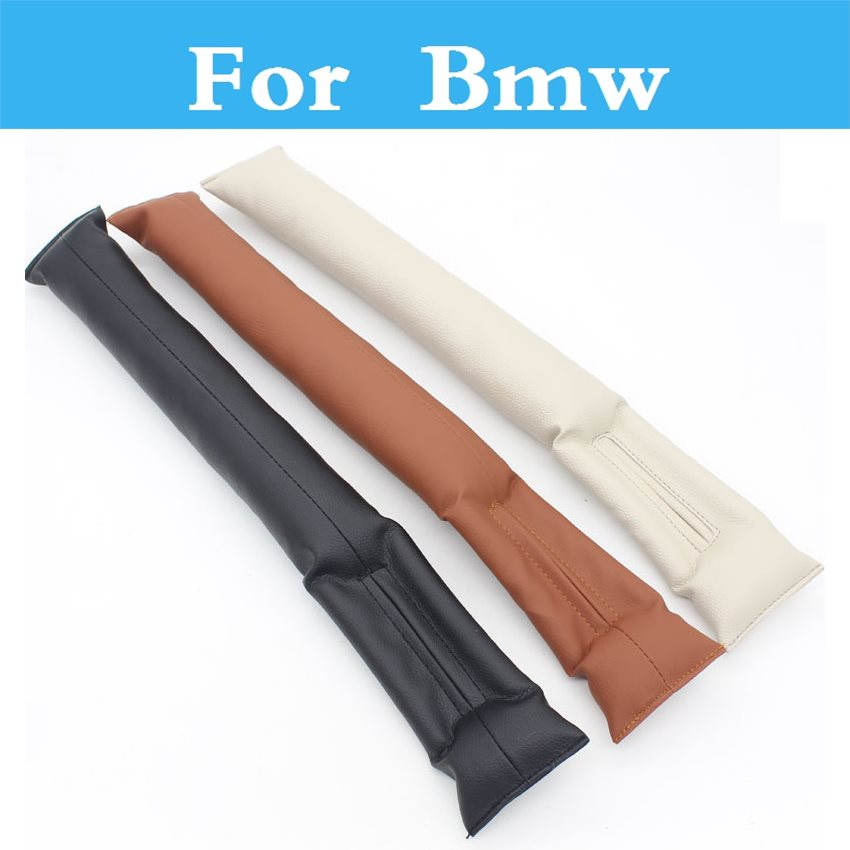 New Leather Car Seat Gap Filler Soft Pad Leak Proof Spacer Padding For Bmw X1 X3 X5 X6 E90 E60 E46 E36 F30 F10 F20 Gt