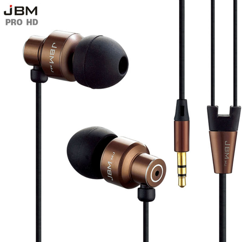 Original JBM MJ-8600 Bass In-ear Earphones Super Clear Metal Earphone Noise isolating Ea ...