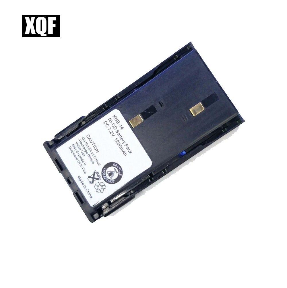 XQF 1200mAh Ni-MH KNB-14 KNB-15 Battery for KENWOOD TK260 TK360 TK270 TK370 Radio