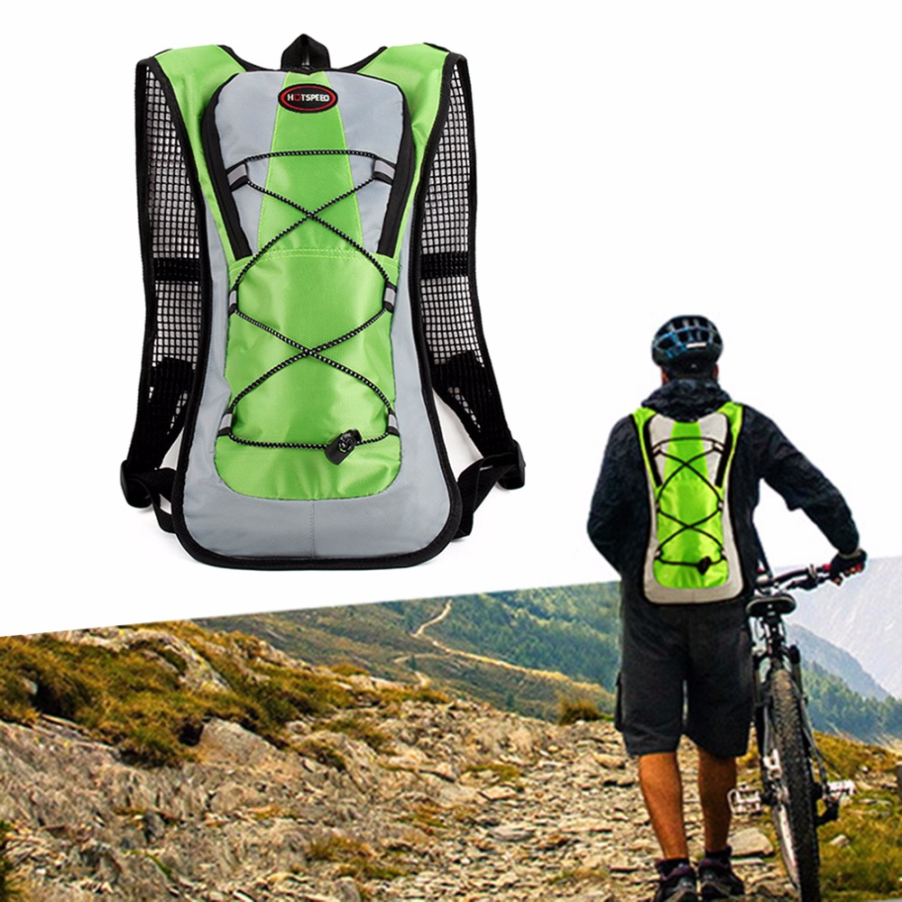 Outdoor Climbing Hiking Camelback Water Bags <font><b>Hydration</b></font> Vest Pack Cycling Backpack Water Bag 2L Bladder Camping Rucksack Packsack