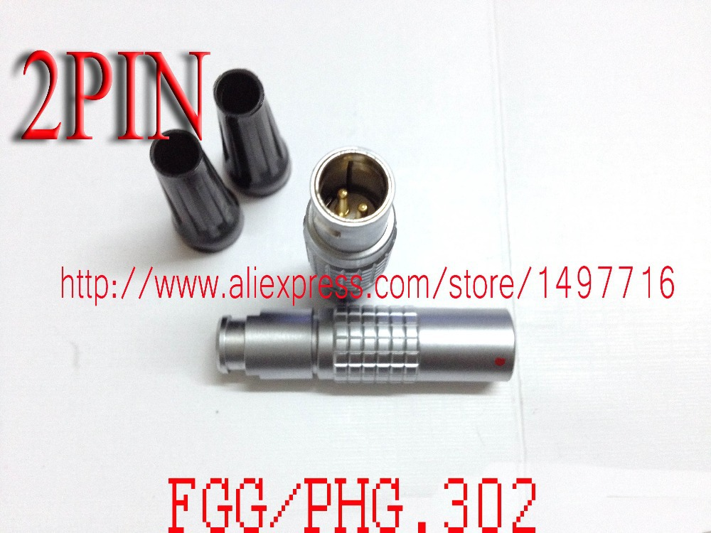 ФОТО LEMO  FGG/PHG.1B.302.CLAD,LEMO 1B connector  2pin plug socket,wire connector splice,cable connectors 2pin