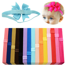 Fashion cute baby girl  children headband newborn hair accessories candy color elastic rubber headwrap clothing accessories newborn toddler headband children s cute hair accessories head band fashion baby flowers girl elastic bands headwear
